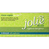 Jolie Organic Tampons Regular with Applicator