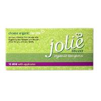 Jolie Organic Tampons Mini with Applicator