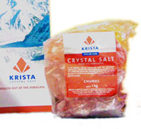 Krista Premium Himalayan Crystal Salt for Pots