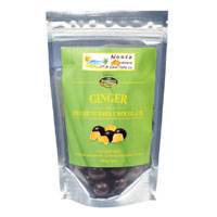 Noosa: Dark Chocolate Coated Ginger 100g
