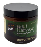 NUI: Live Fair Wild Harvest Virgin Coconut Oil 440ml