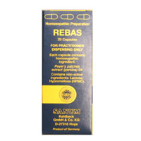 Rebas 6x box of 20 caps - Practitioner Only Product