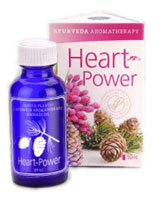 Service-Plants Heart-Power Ayurveda Aromatherapy Oil 30ml
