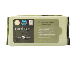 Wotnot 80 Biodegradable Baby Wipes